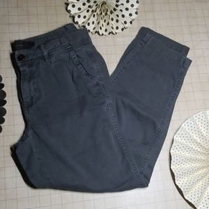 J. Crew Chino Pant size 4 Cropped.